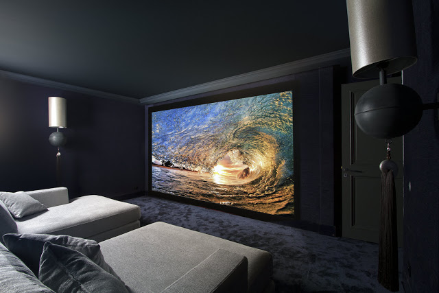waterfall cin ma pro et cin ma design chez adhf toulouse. Black Bedroom Furniture Sets. Home Design Ideas