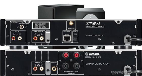 mini chaine haut de gamme yamaha pianocraft mcr n870. Black Bedroom Furniture Sets. Home Design Ideas