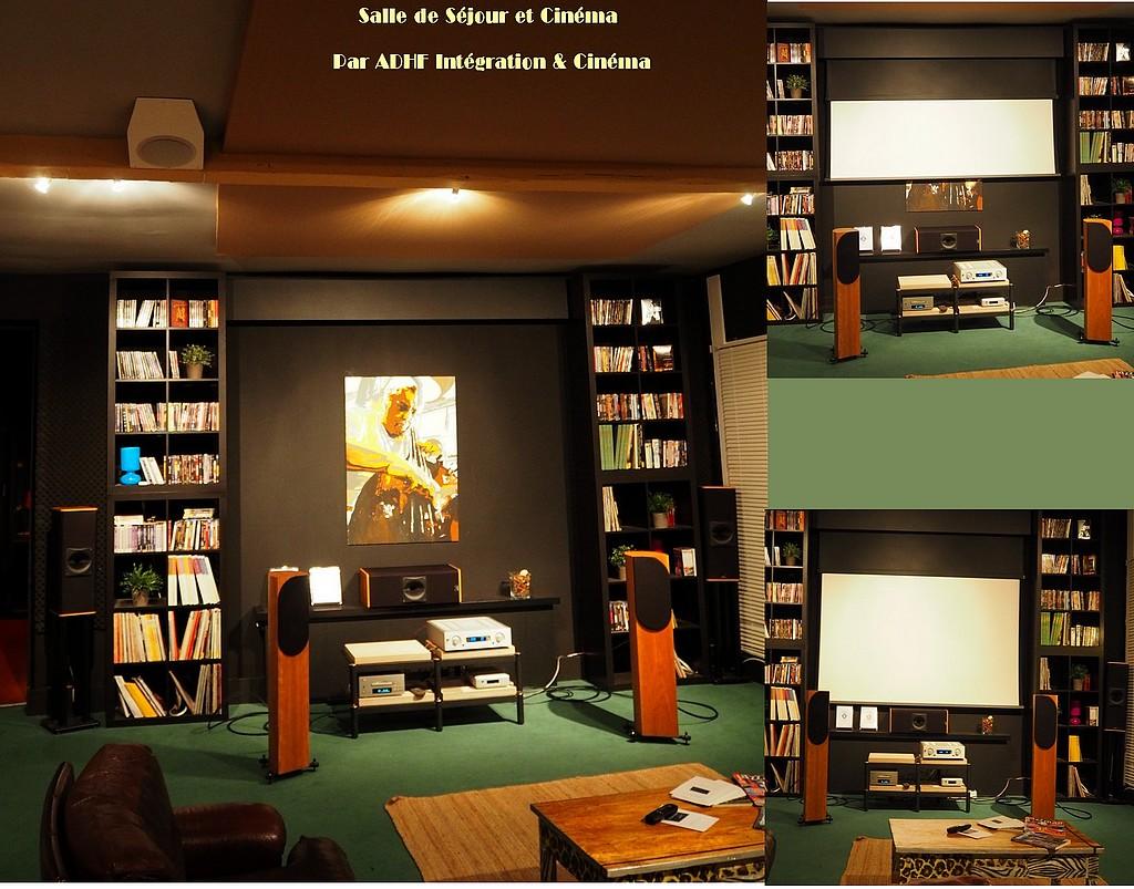 Adhf Acoustique Design Integration Cinema Salle De Cinema